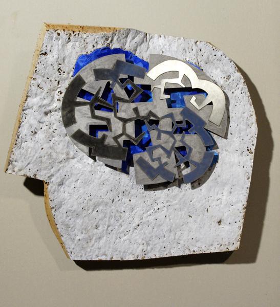 DIA AZUL - CORCHO - OLEO - INOX (52X58X20)